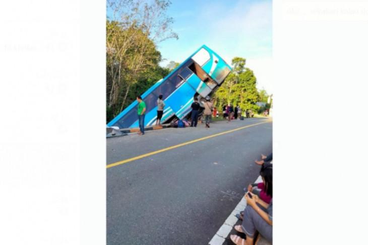 Polisi selidiki penyebab kecelakaan Bis Damri di Kalis Kapuas Hulu