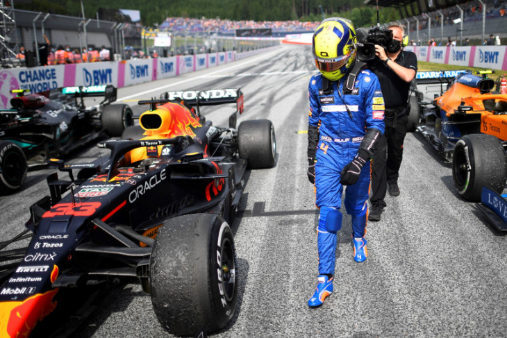 Formula 1, Norris salahkan Perez atas penalti dan hilangnya peluang P2 di Austria