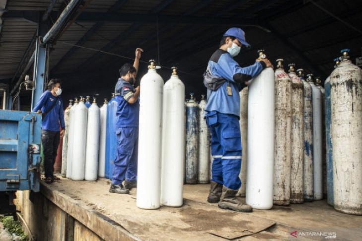 Kasus COVID-19 melonjak, kebutuhan oksigen di RSUD Kota Madiun ikutan naik