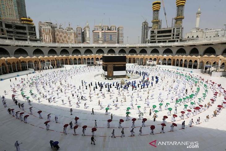 Sebanyak 327 warga Indonesia di Saudi ikut ibadah haji 2021