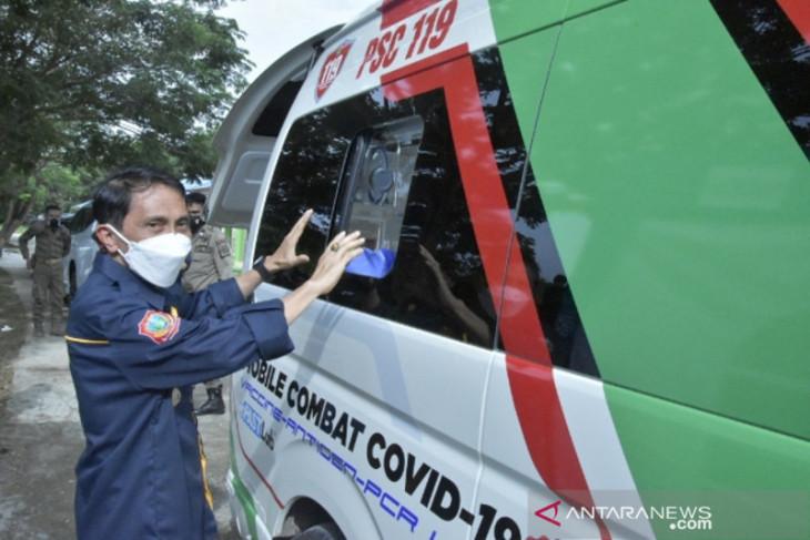 Mobile Combat PSC 119 Dinkes Kabupaten Gorontalo siap beroperasi