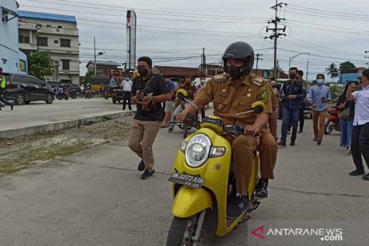 Pemkot Medan targetkan perbaikan jalan rusak tuntas  pada 2023