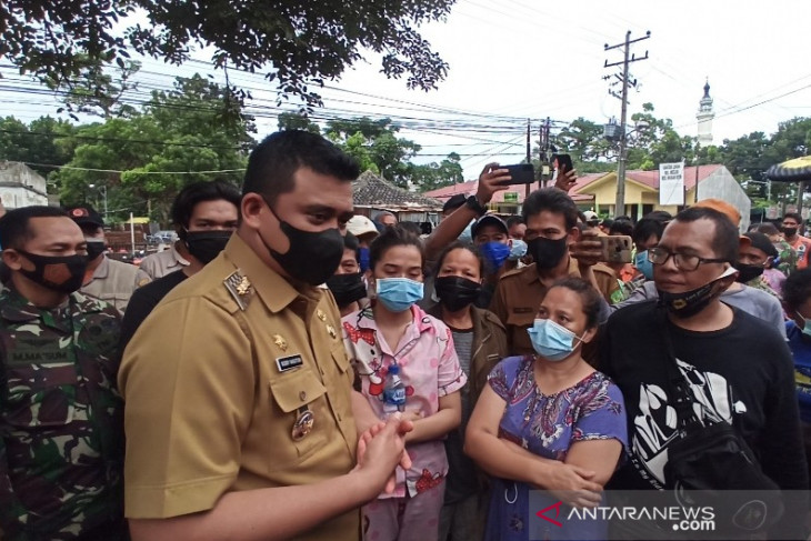 Wali Kota Medan tawarkan program bedah rumah untuk  korban kebakaran
