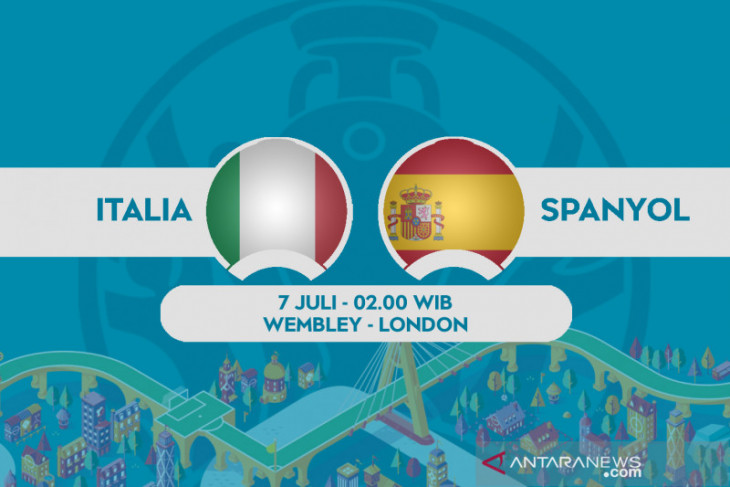 Euro 2020, Italia vs Spanyol bakal diwarnai pertarungan perebutan penguasaan bola