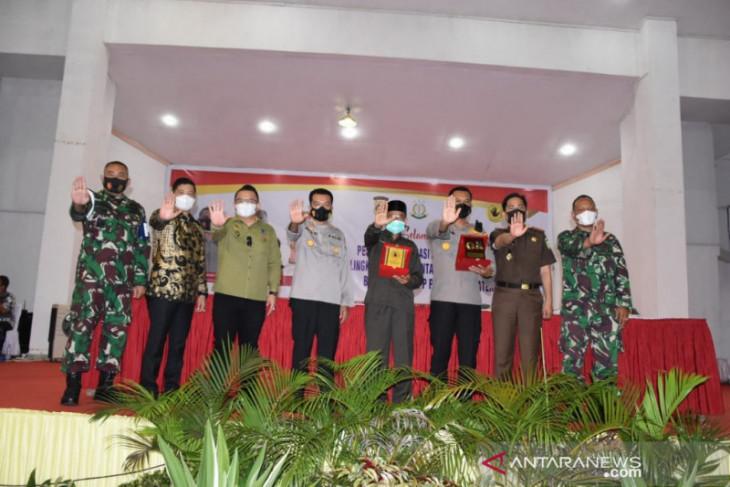 Sosialisasi Saber Pungli di lingkungan Pemkab Madina