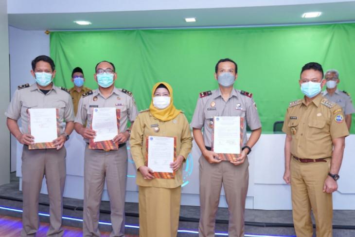 BPN serahkan sebanyak 105 sertifikat tanah aset milik Pemkot Pontianak