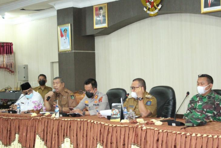Kota Sibolga masuk daftar PPKM Mikro, Wali Kota gelar rapat darurat