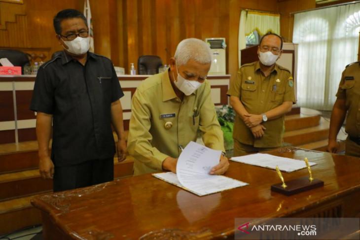 DPRD Asahan setujui pertanggungjawaban APBD Asahan 2020 jadi perda