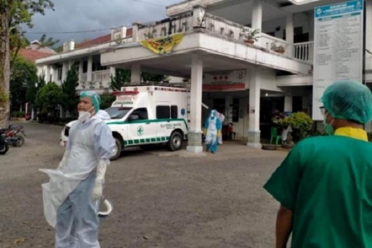 Sebanyak 15 orang pasien COVID-19 dirawat di RSU Sibolga, jumlah ruangan ditambah