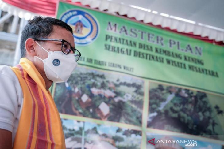 Menparekraf: Proses dana hibah pariwisata akan dipercepat