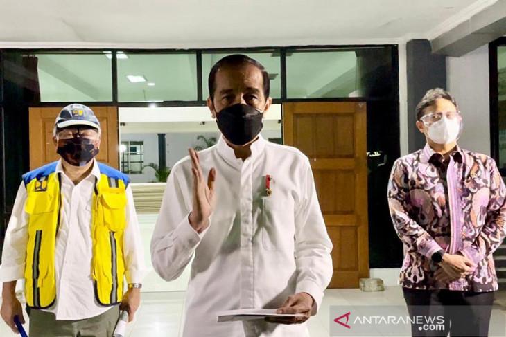 Presiden Jokowi: RS Wisma Haji langsung beroperasi tangani pasien COVID-19