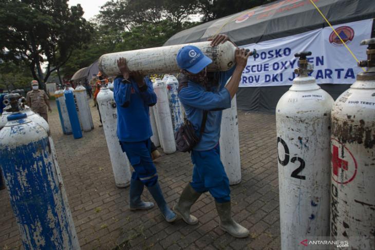 Pemerintah pesan 10 ribu tabung oksigen  konsentrator dari Singapura