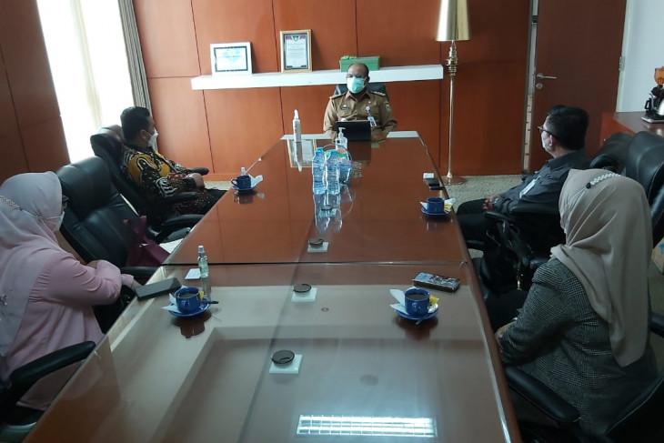 Direksi BSI terkesan dukungan Pj Gubernur Kalsel