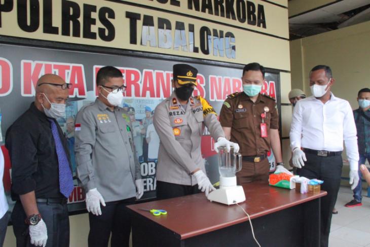 Polres Tabalong musnahkan 34 gram sabu - sabu