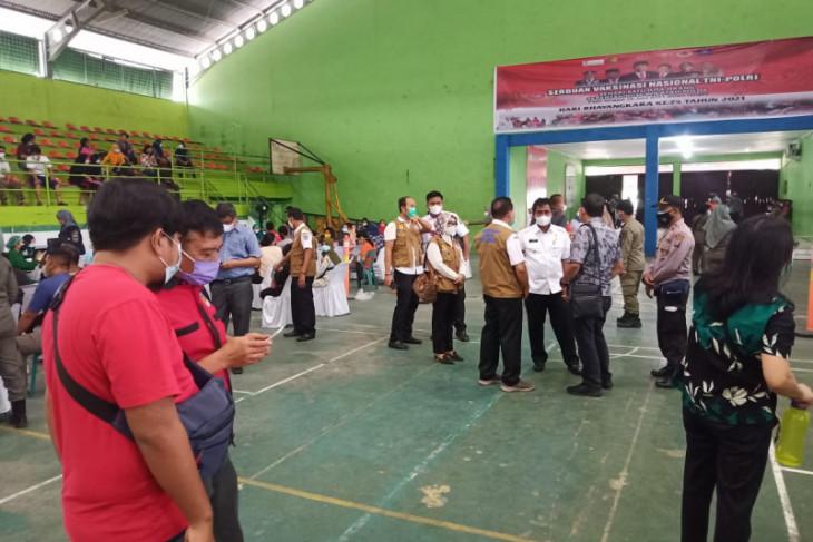 Ratusan warga Binjai ikuti vaksinasi tahap kedua