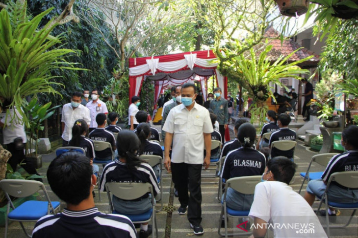 Sekda: Bali percepat vaksinasi anak usia 12-17 tahun