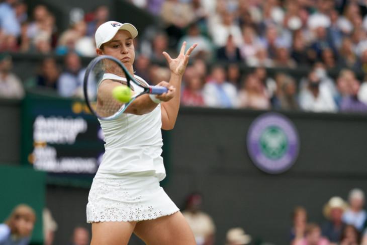 Barty singkirkan rekan senegaranya di perempat final Wimbledon