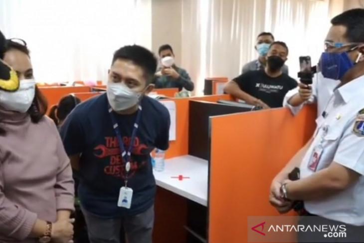 Satpol-PP Jakarta Barat lakukan  sidak 156 perusahaan selama PPKM