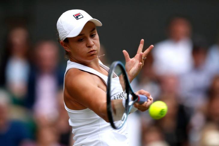 Barty lolos ke final Wimbledon perdananya