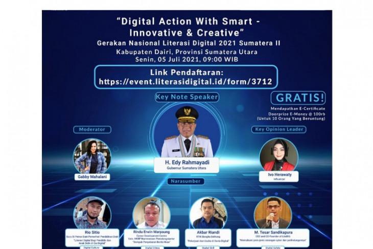 Program Literasi Digital Kemenkominfo di Dairi