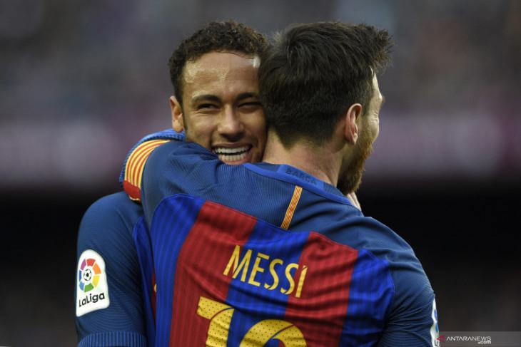 Persahabatan Neymar dan Messi