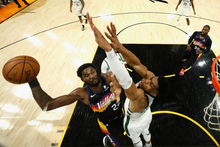 Phoenix Suns unggul 2-0 atas Bucks di Final NBA
