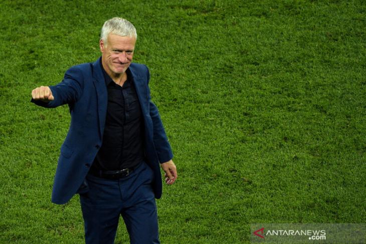 Didier Deschamps tetap latih Prancis hingga Piala Dunia 2022