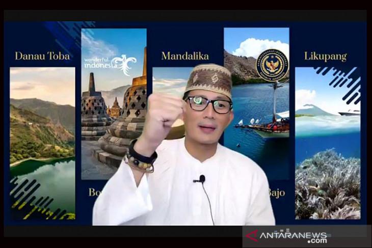 Menteri Sandiaga ajak UMKM belajar buat konten digital sambil berjualan online