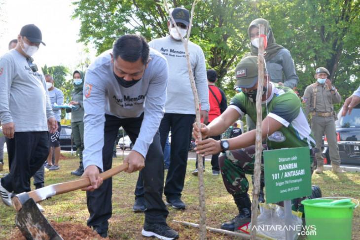 Korem dukung serbuan satu juta pohon di Kalsel