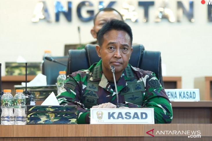 Kasad minta rumah sakit TNI AD laporkan kebutuhan penanganan COVID-19