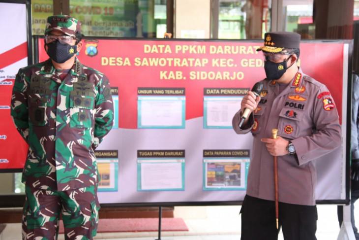 Kapolri meyakini 'herd immunity' terbentuk pada akhir Agustus di Jawa Timur