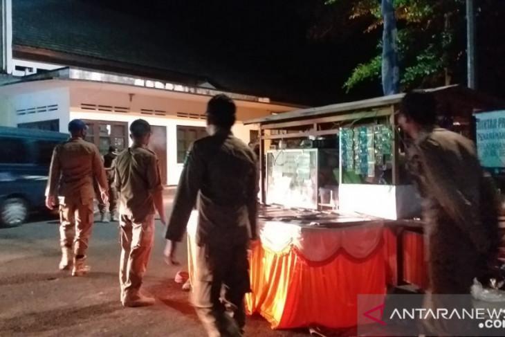Satpol PP Belitung gelar patroli pengawasan PPKM Mikro Intensif