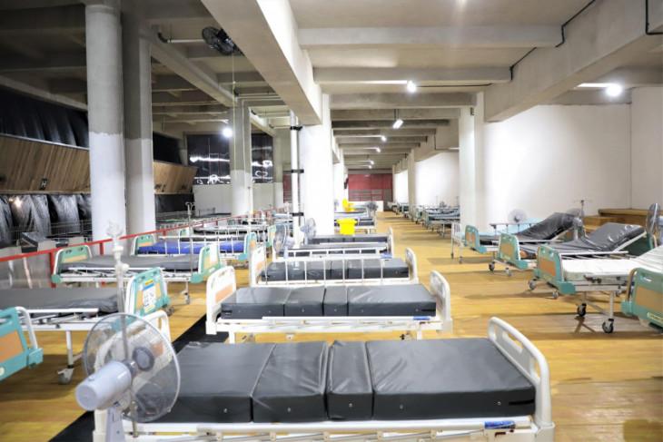 RS Lapangan Tembak Surabaya belum bisa dipakai tunggu ketersediaan tabung oksigen