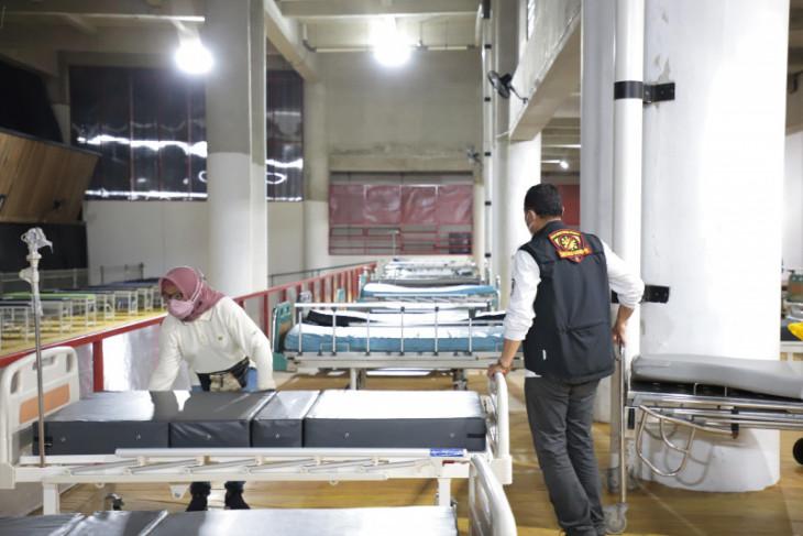 Surabaya's Lapangan Tembak Hospital readies 100 oxygen concentrators