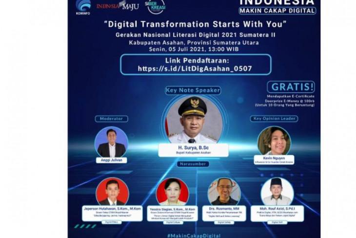 Literasi Digital di Kabupaten Asahan