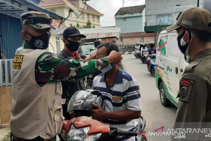 Ketaatan warga Kota Pangkalpinang untuk pakai masker rendah