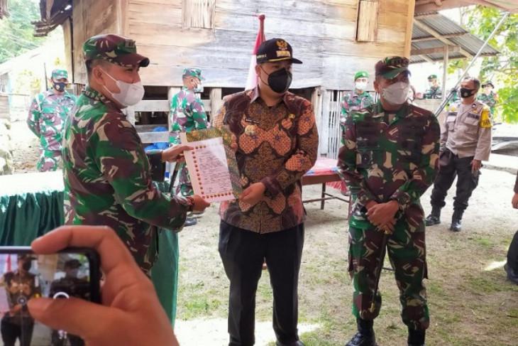 Danrem tutup karya bhakti TNI di wilayah Kodim 0210/TU