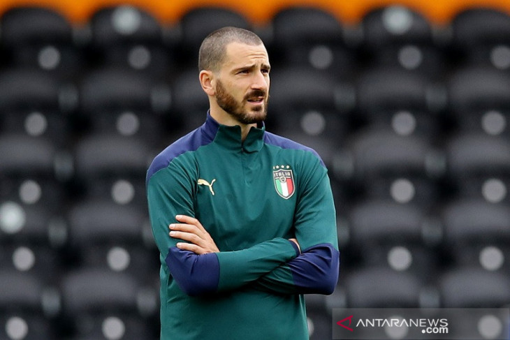 Bonucci: Italia vs Inggris bak pertarungan tua muda