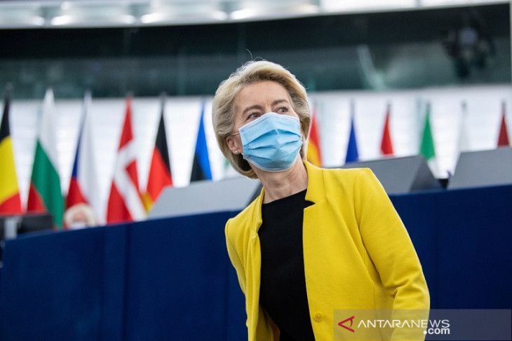 Euro 2020, Presiden Komisi Uni Eropa Ursula von der Leyen jagokan Italia