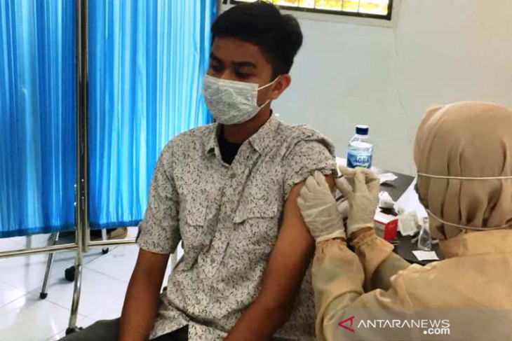 Cegah COVID-19, Dinkes Nagan Raya mulai vaksin anak usia 12-17 tahun
