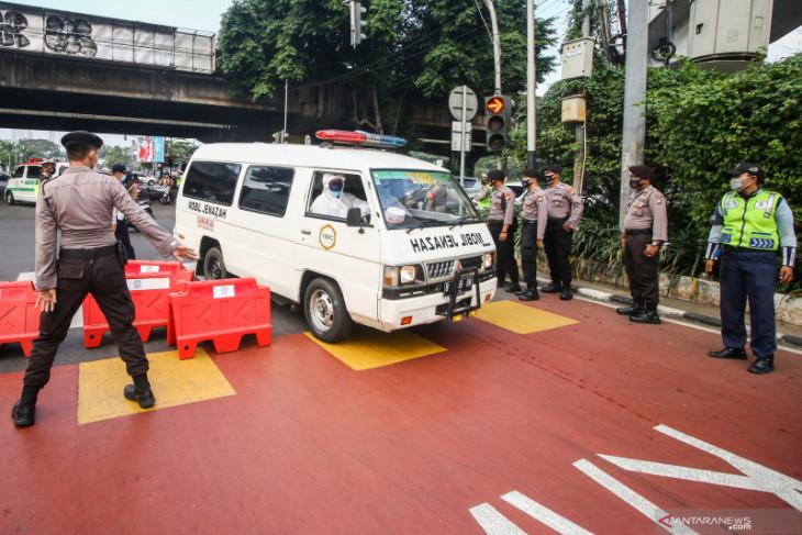 Polda Metro: Penyekatan Jalan Fatmawati untuk mencegah mobilitas dari Tangerang