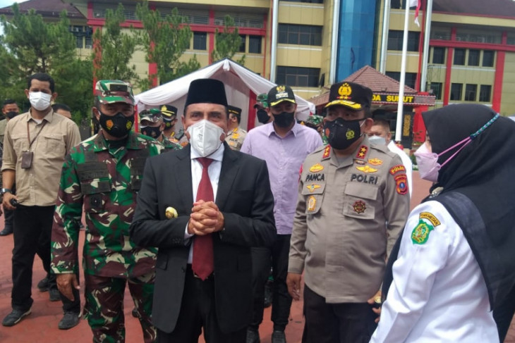 Gubernur Sumut: Penyekatan di  Kota Medan dalam rangka PPKM darurat