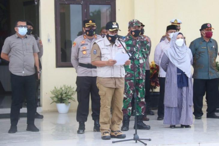 Sukseskan vaksinasi massal di Palas, Wabup Zarnawi ucapkan Terimakasih kepada TNI - POLRI