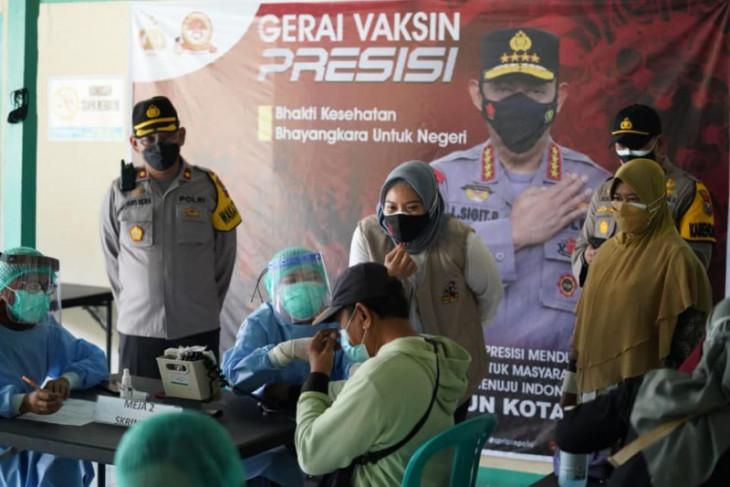 Polres Madiun Kota gelar vaksinasi massal