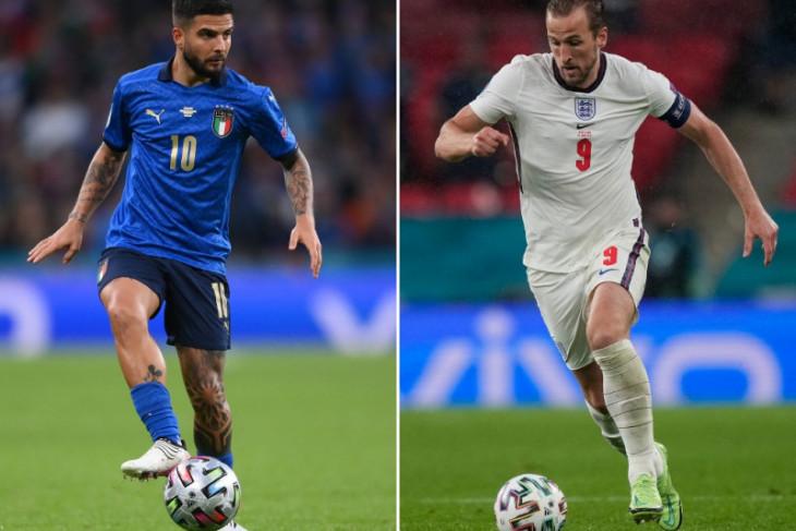 Tiga duel sengit dalam final Euro 2020 di Stadion Wembley