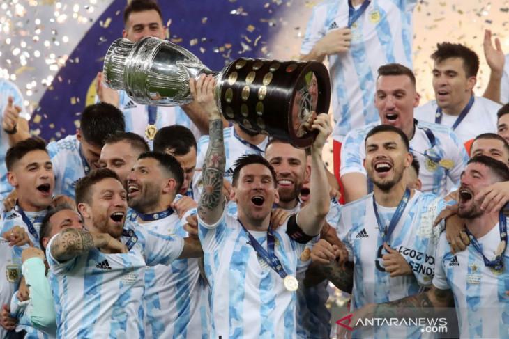 Argentina kembali panggil Messi hadapi Brazil di kualifikasi Piala Dunia