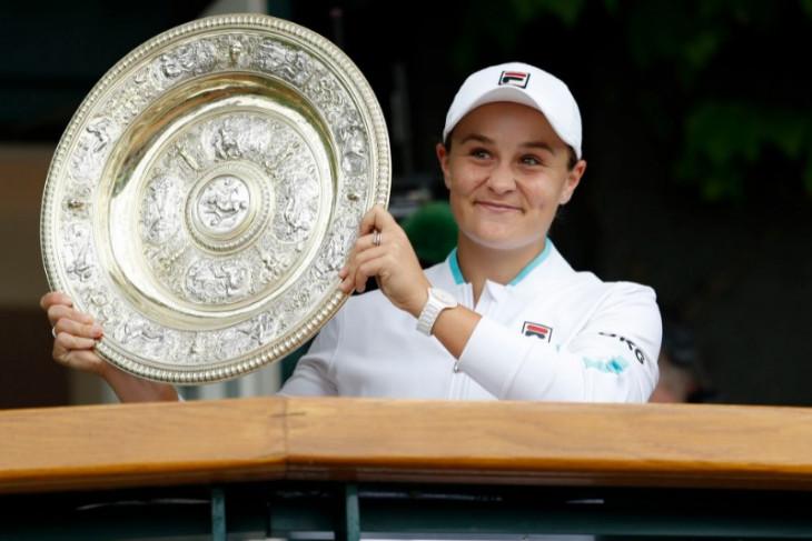 Reaksi terhadap juara baru Wimbledon,  Ash Barty