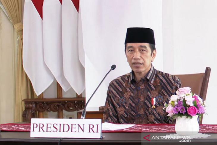Presiden Jokowi sampaikan duka cita mendalam semua korban pandemi COVID-19
