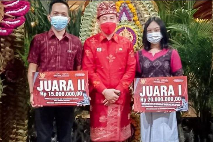 Putra-putri Karangasem sabet dua juara Lomba Bulan Bung Karno Pemprov Bali