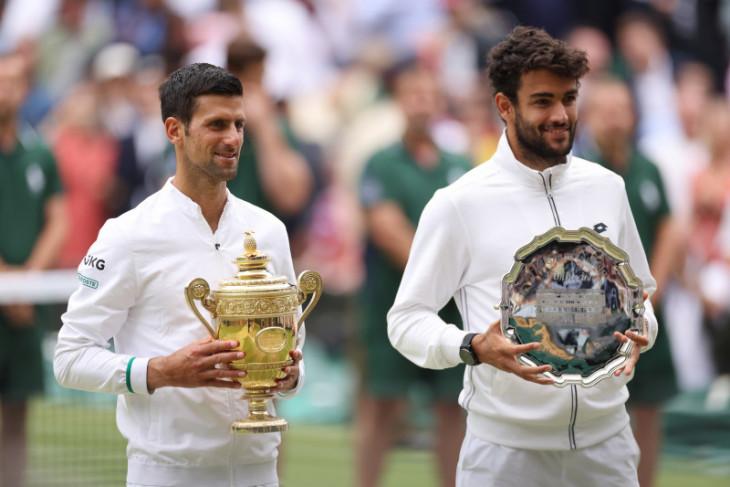 Wimbledon: Berrettini yakin suatu saat angkat trofi juara